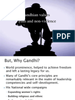 Gandhian Values
