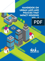 HAND BOOK ON URBAN LAWS AND POLICIES THAT IMPACT HOUSING VOL-2
