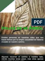 HOJAS DE MI ARBOL.pps