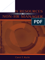 [Carol T. Kulik] Human Resources for the Non-HR Ma