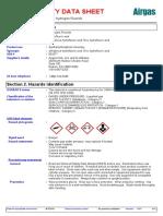 sds of citric acid
