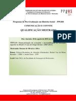 Qualificacao Rosane de Oliveira e Silva
