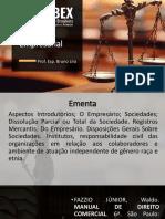 Direito empresarial - apresentação