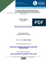 Epistemología, Ciencia y Educación Científica