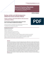 2018- Rearing, Nutrition and Child Development in Children From Sonora and State of Mexico