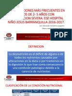 COMPLICACIONES MÁS FRECUENTES EN NIÑOS DE 2- 5