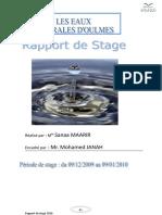 Rapport de Sanaa MAARIR