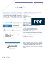 VPN Manual - Ubuntu - Engelsk