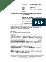 Medida de Internamiento - Juan Palacios Palomino