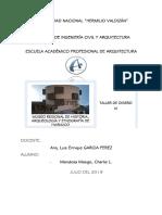 Informe Museo Regional de Huánuco