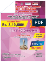 1st Hyderabad All India Open Fide Rating Chess Tournament 1
