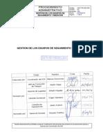 GGT-PA-SGI-009 Gestión Equipos Seguimiento y Medición v3