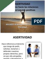 ASERTIVIDAD UN CAMINO HACIA RELACIONES INTERPERSONALES POSITIVAS