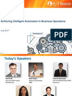 Achieving Intelligent Automation in Business Operations Slides