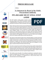 PPA BOARD MUST STILL STEP ASIDE