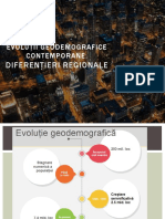 Evoluții geodemografice contemporane