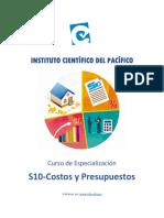 Costos y Presupuestos-Manual Sesión 6