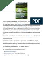 Escorrentía - Wikipedia, La Enciclopedia Libre