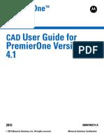 PremierOne CAD User Guide v 4.1