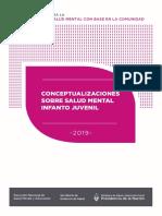 ARG Recomendaciones Conceptualizaciones Salud Mental Infanto Juvenil