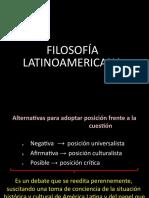 FILOSOFÍA LATINOAMERICANA GWMK