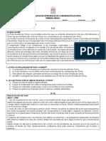 Evaluación Estrategias de Comprensión Lectora Segundo Medio