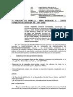 Subsanacion de Demanda de Maria Soledad Huayta Gutierrez