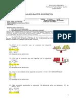 Ev. Ecuaciones Inecuaciones Agosto Pauta