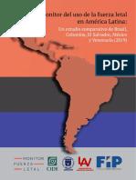 Monitor del Uso de la Fuerza Letal en América Latina
