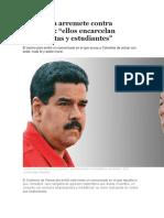 Venezuela Arremete Contra Colombia[1]