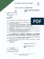 Calendário Acadêmico UEM 2019 - pós greve