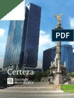 Informe Anual a Nuestros Asegurados 2018