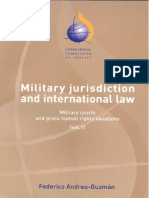Military Jurisdiction Publication 2004