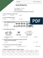 guía de números y ecuaciones