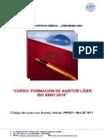Auditor Lider Iso 45001.Trujillo Última Rev -Ok 050819