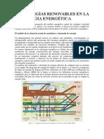 Las Energías Renovables en La Estrategia Energética