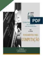 Fundamentos para computação