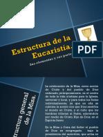 ESTRCUTURA DE LA EUCARISTIA.pptx