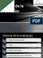 Historia de La Evaluacion