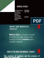 PPT DPES Medical Ethics