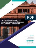 Transparencia en Las Contrataciones Publicas Nacional