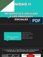 Unidad 2 Informatica Aplicada Al Trabajo Social.