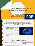 La Integracion Disciplinaria y El Estudio de Las Necesidades.