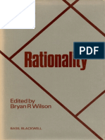 Rationality. Key Concepts in Social Science.