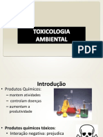 Aula 00 - Toxicologia Ambiental