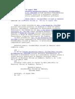 ORDIN Nr 621 Din 14.08.2006 Pentru Abrogarea Ordinului 550 Din 2004 Al MMSSF
