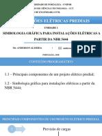 (1.2) UNIDADE 1 - Simbologia Grafica Para Instalacoes Eletri