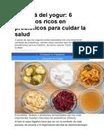 Más Allá Del Yogur