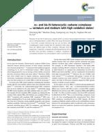 Mono- And Bis-N-heterocyclic Carbene Complexes