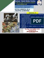 SEMANA 01- La Contaminación Ambiental Generada Por La Industria Alimentaria.